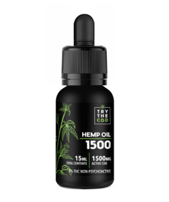 1500MG CBD OIL THC FREE