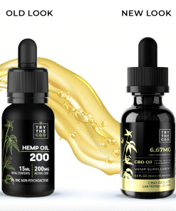 old label cbd oil
