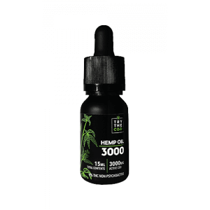 3000mg CBD Oil Bottle - Hemp CBD Oil - Pure Hemp Oil