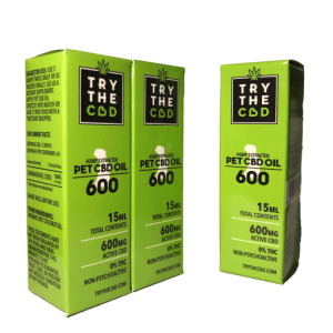 600mg PET CBD Oil