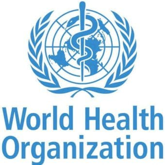 Wordl Health Organization Logo - WHO declares CBD is not addictive or toxic.