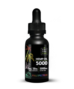 5000mg Full Spectrum CBD Oil Tincture