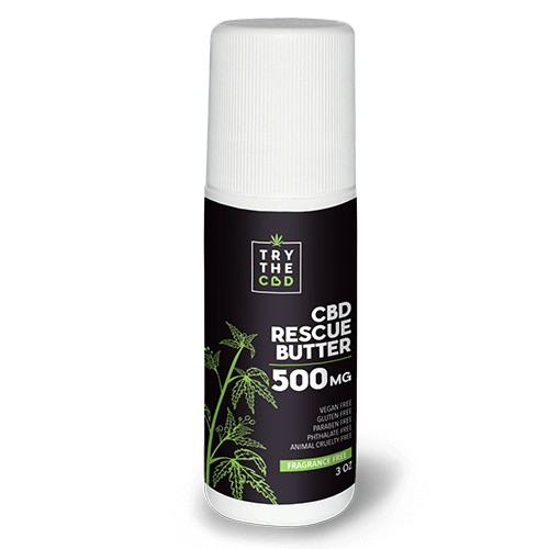 cbd rescue butter
