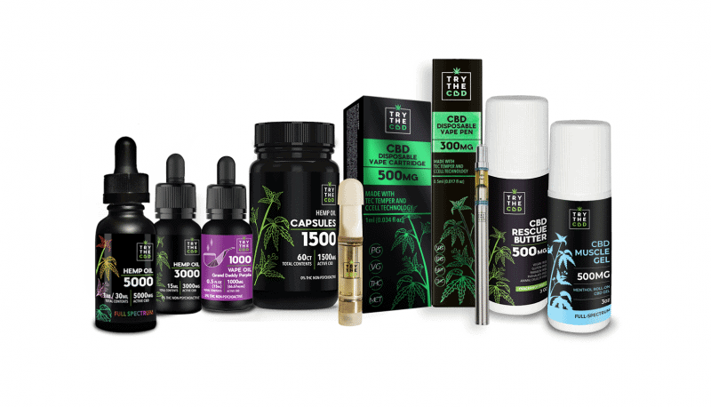 CBD Oil and other CBD products on TryTheCBD.com - Where to buy CBD Oil?