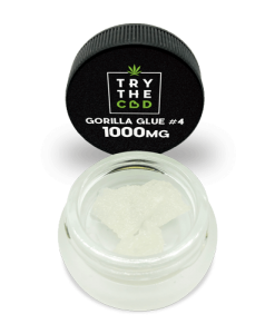 Gorilla Glue #4 1000mg Pure CBD isolate