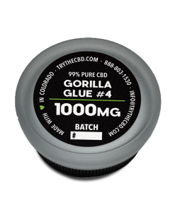 1000mg Pure CBD Isolate Gorila Glue CBD