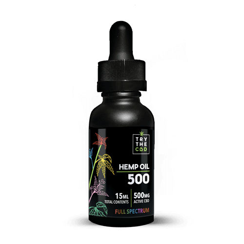 500mg Full Spectrum CBD