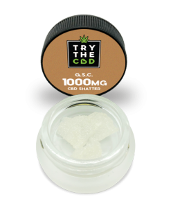 G.S.C. 1000mg Pure CBD isolate