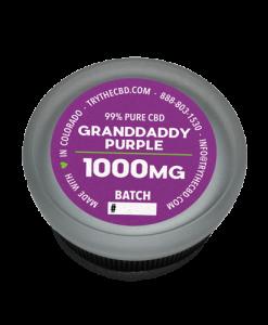 1000mg Pure CBD Isolate Granddaddy Purple CBD