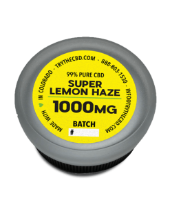 1000mg Pure CBD Isolate Super Lemon Haze CBD