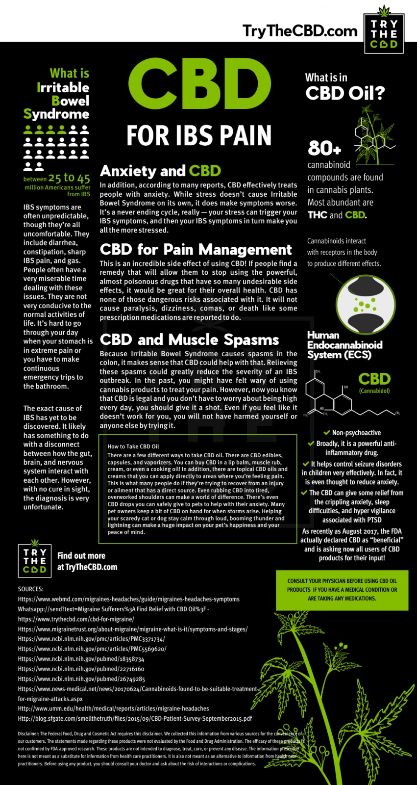 Can CBD Oil be used to treat IBS pains?