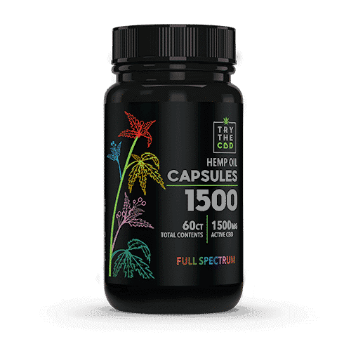 CBD CAPSULES FULL SPECTRUM CBD OIL