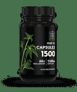THC FREE CBD OIL CAPSULES
