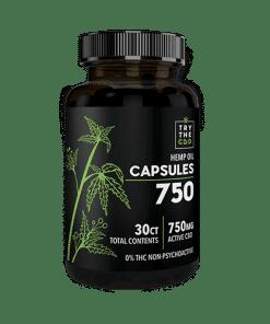 CBD OIL THC FREE CAPSULES