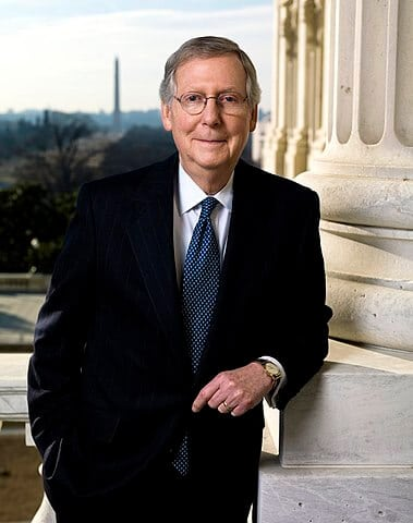 Senator Mitch McConnell - Republican senator from Kentucky announces bill to legalize hemp