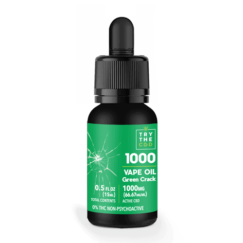 1000MG Green Crack CBD Vape Oil CBD Vape Juice