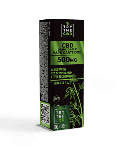 500mg CBD Og Kush Vape Cartridge