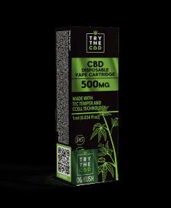 500mg CBD Og Kush Vape Cartridge