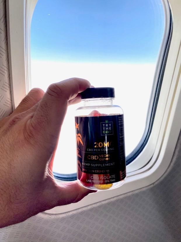 CAN YOU FLY WITH CBD GUMMIES