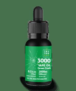 3000 MG CBD GREEN CRACK STRAIN VAPE OIL