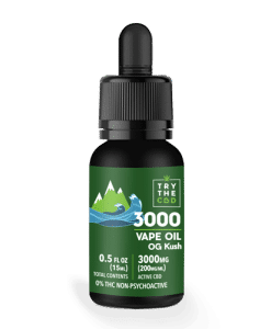 3000mg cbd og kush vape oil