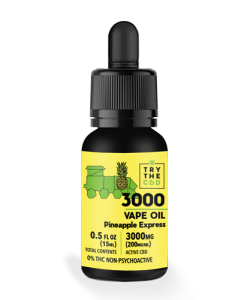 3000mg pineapple express strain cbd vape oil