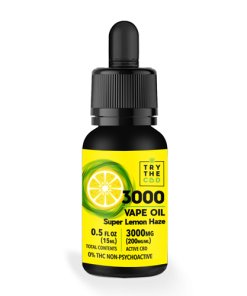3000mg super lemon haze strain cbd vape oil