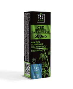 300mg cbd indica strain vape cartridge