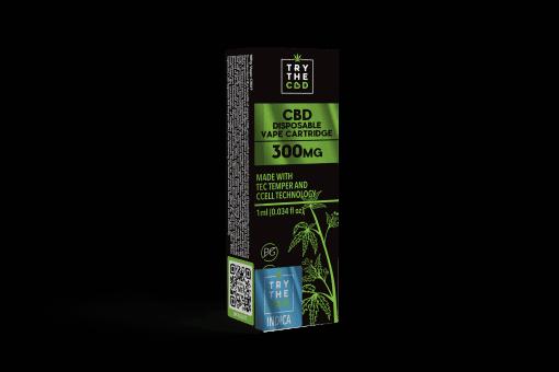300mg cbd indica strain vape cartridge