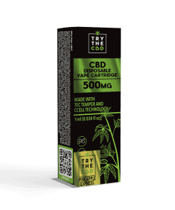 500MG CBD Pineapple Express Vape Cartridge