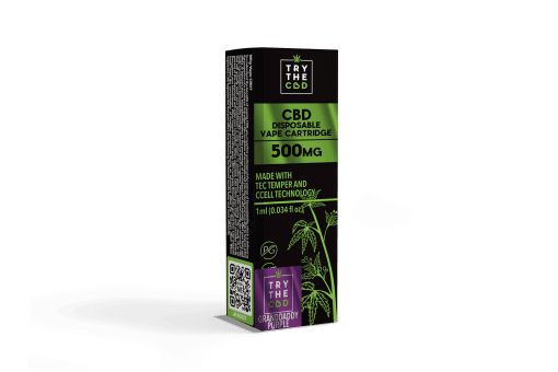 500MG CBD VAPE GRAND DADDY PURPLE