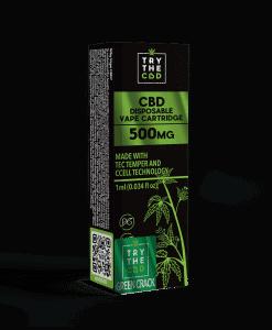 500mg cbd green crack vape cart