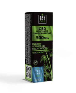 500MG CBD INDICA VAPE CARTRIDGE