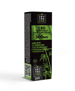 500mg GG4 CBD Vape Cartridge