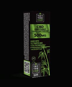 500mg GG4 CBD Vape Cartridge