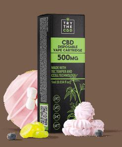 500mg CBD Gelato Vape Cartridge