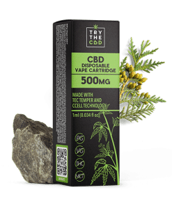 500mg CBD Gorilla Glue Vape Cartridge
