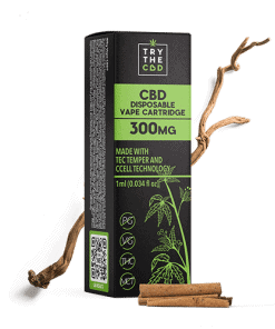 300mg CBD INDICA CBD VAPE CARTRIDGE