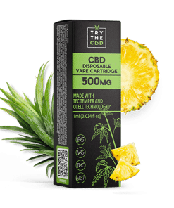 500mg CBD Pineapple Express Vape Cart