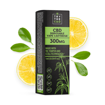 300MG CBD SUPER LEMON HAZE CBD VAPE CART