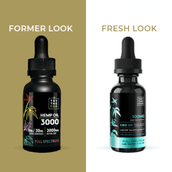 Full Spectrum CBD Oil 3000mg Fresh look