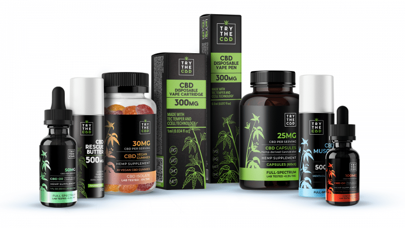 High quality CBD Products - Try The CBD
