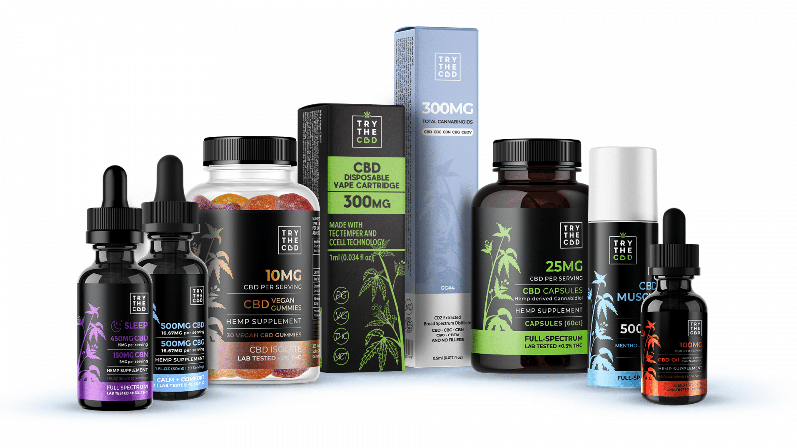 Try The CBD Products