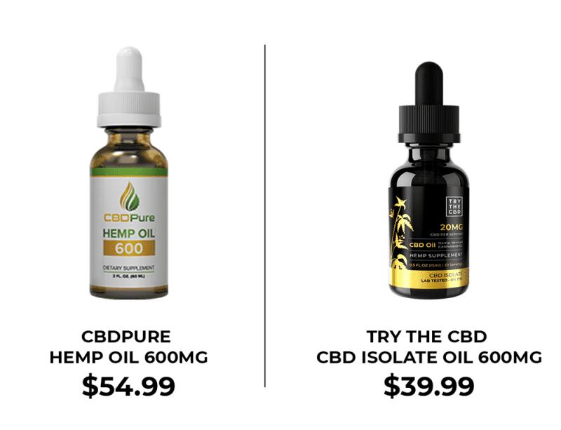 Try The CBD vs PureCBD